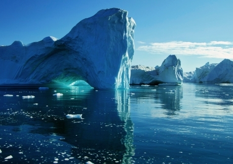 Big Blue Icebergs