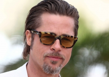 Brad Pitt with Glasses