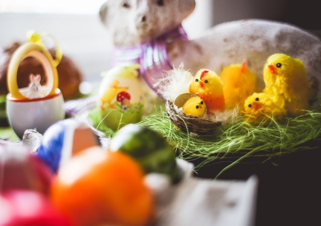 Colorful Easter Decorations