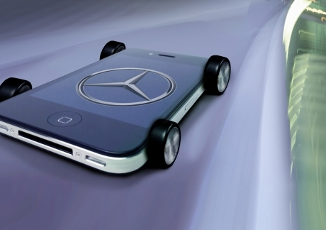 Mercedes Benz Iphone 4